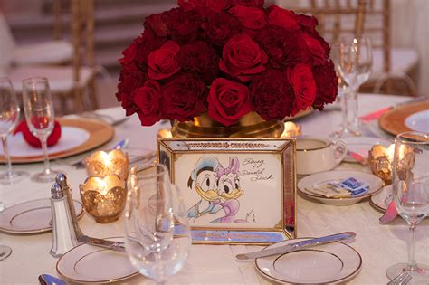 whimsical disney inspired wedding centerpieces