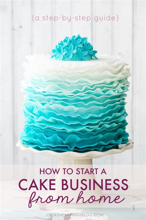 starting a cake decorating business from home how to start a cake business from home