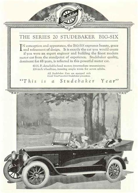 Old Studebaker Picture From The Old Car Project Tocmp Com