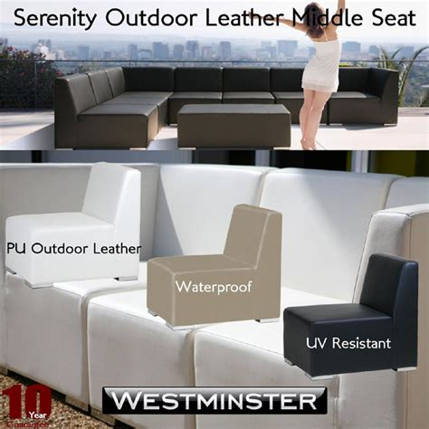 leather outdoor furniture westminster furniture pu leather outdoor fully waterproof