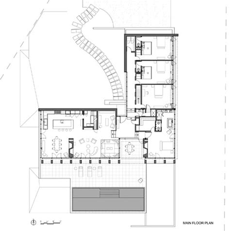 water front house plans luxurious waterfront house by michael haverland architect