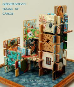 Eames House Of Cards Template by Gingerbread House Of Cards Collaboration The Cookie