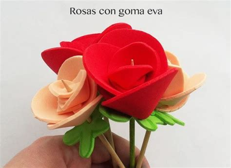 las rosas de goma podis ver este video en el que lo explicamos paso 25 best ideas about manualidades faciles y bonitas on