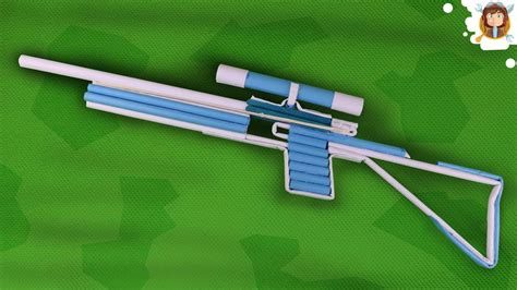 How To Make A Paper Shotgun That Shoots - how to make a paper sniper rifle that shoots