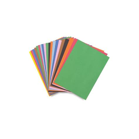 construction paper construction paper 9 inch x 12 inch assorted colors 50