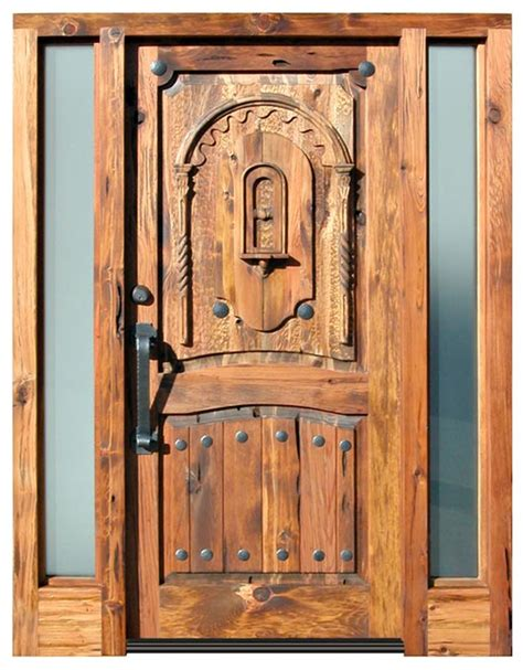 Handmade Doors - tahoe custom entry doors wood fenestration