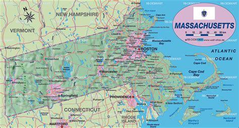 Map of Massachusetts, Massachusetts Maps   Mapsof.net