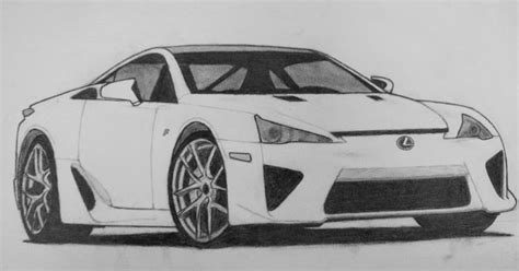 lexus lfa drawing lexus through your lexus