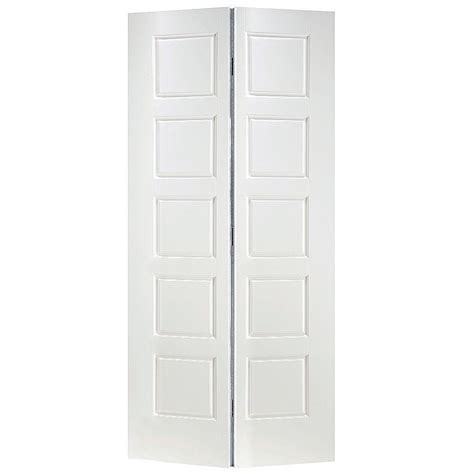interior door home depot masonite 36 in x 80 in x 1 3 8 in riverside white 5 panel equal smooth hollow interior