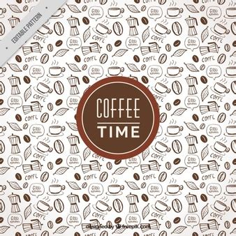 pattern coffee vector coffee background vectors photos and psd files free