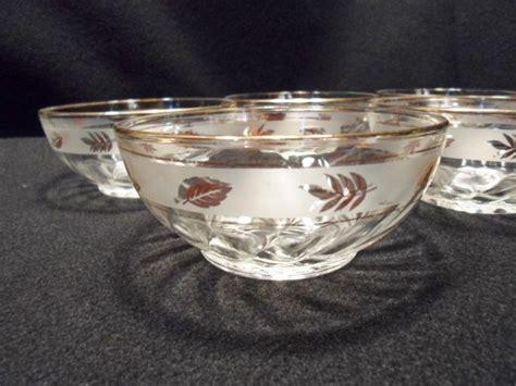 gold leaf pattern glasses 7 best vintage libbey glasses images on pinterest gold