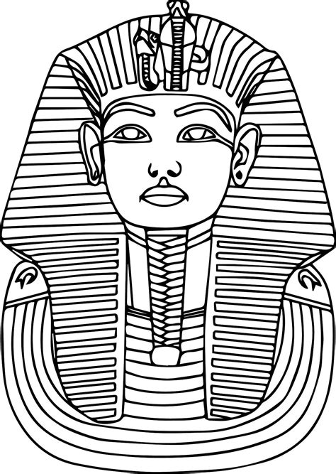 Coloring Pages Of Egyptian Pharaohs | printable ancient egypt pharaoh coloring pages ancient