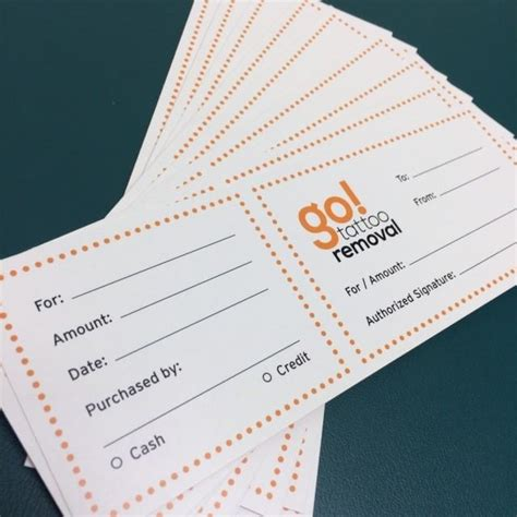 Gift To Go Card - go tattoo removal gift cards laser tattoo removal