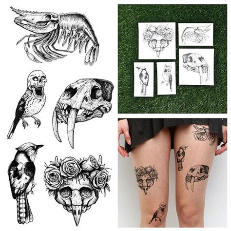 tattoo animal set 40 best images about temporary tattoos on pinterest
