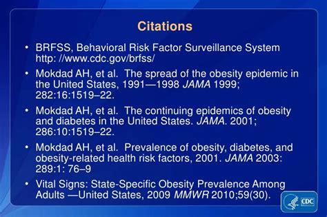 behavioral risk factor surveillance system brfss cdc www bariatric surgery source com obesity statistics in