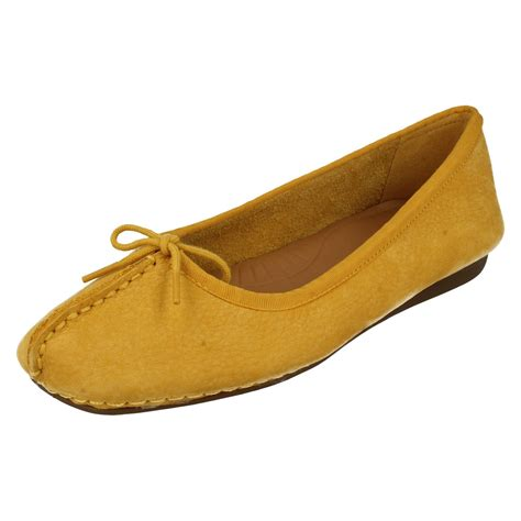 comfortable flat ladies clarks comfortable flats freckle ice ebay
