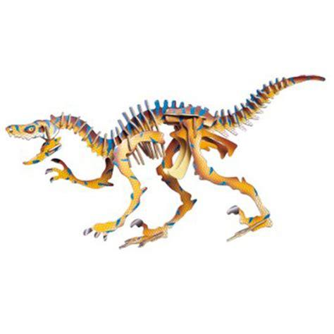Puzzle 3d Kayu Velociraptor d蝎ev茆n 233 3d puzzle skl 225 da芻ka dinosau蝎i velociraptor jc004 malypomocnik cz