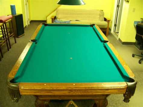 world of leisure 4 x 8 pool table and accessories new