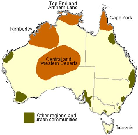 regions of australia map more information about the kimberley aboriginal