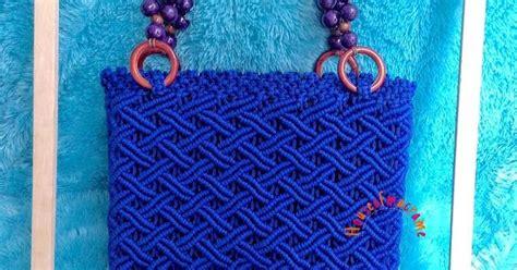 tutorial tas tali kur motif cacing about macrame cara membuat tas macrame dengan bahan tali