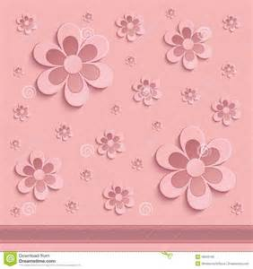 paper flower template 3d flowers paper 3d pink stock photo image 39258749