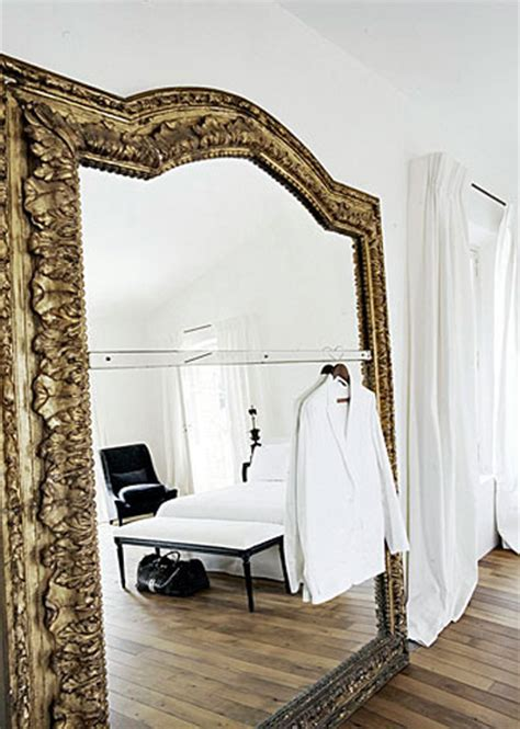big mirror for bedroom 33 cool idea to use big golden mirrors for your decor
