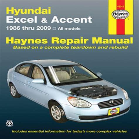 haynes hyundai excel accent 1986 1994 auto repair manual amazon com mike stubblefield books biography blog audiobooks kindle