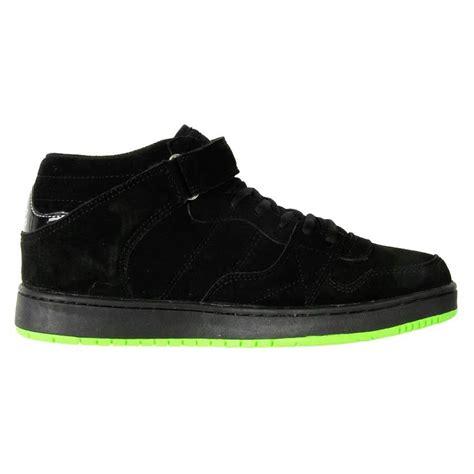 airwalk s leather suede chukka skate shoe hi top