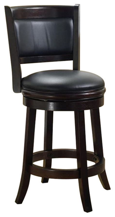 boraam augusta 29 in swivel bar stool contemporary bar stools and counter stools by hayneedle boraam industries inc boraam augusta 29 quot swivel bar