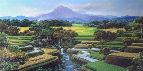 wallpaper hd alam pedesaan gambar pemandangan alam di desa yang indah kumpulan