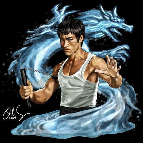 bruce lee art hd wallpaper for android free download on