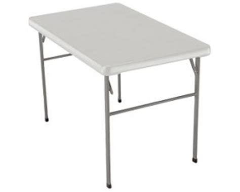 Portable Craft Table by Lifetime Portable Folding Table 1001582 White Granite 42