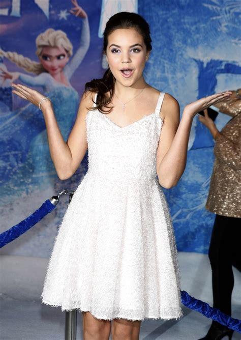 frozen film premiere bailee madison picture 49 film premiere frozen