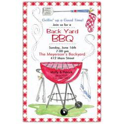 on the grill bbq invitations paperstyle