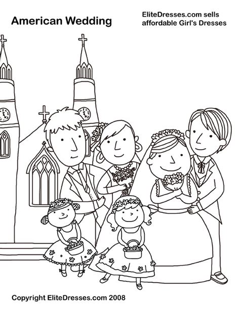 free coloring book pages wedding wedding coloring pages that are free and printable