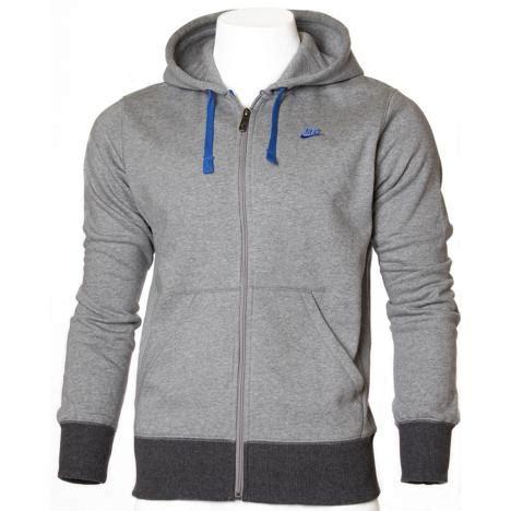 Sweater Hoodie Zipper Vans Nike Unisex nike zip hoodie 372759 063 grey pmc sports wholesale sportswear fashion nike adidas