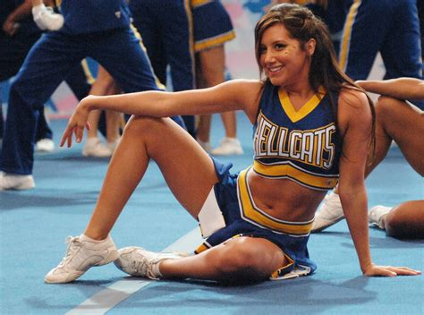 megan park ashley tisdale cheerleaders in movies and tv shows october 2011