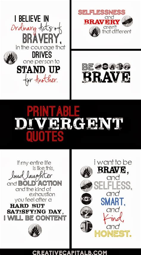 printable divergent bookmarks sad quotes from divergent series quotesgram