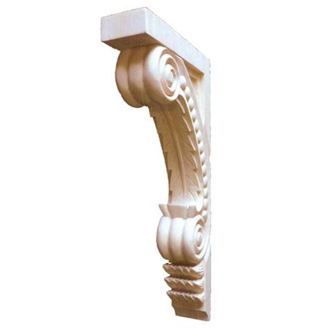 12 Inch Corbels Legacy Signature 12 Inch Leaf Corbel With Bead