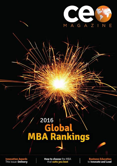 Aib Mba Ranking by Ceo Magazine Volume 21 By Ceo Magazine Issuu