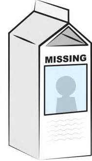 missing person milk template missing milk template