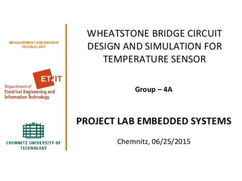wheatstone bridge simulator wheatstone bridge circuit design and simulation for temperature senso