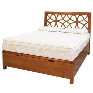letto legno contenitore letto contenitore legno massello con testata la casa