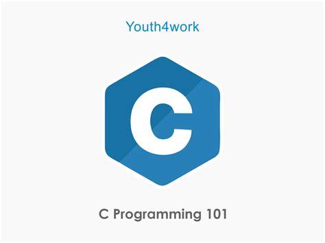 C Programming 101 C- Programming Logo