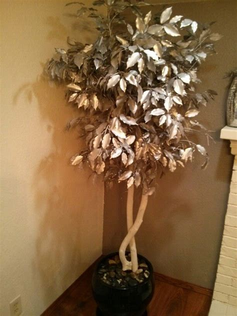 spray paint trees pin by erin stubing on home decor
