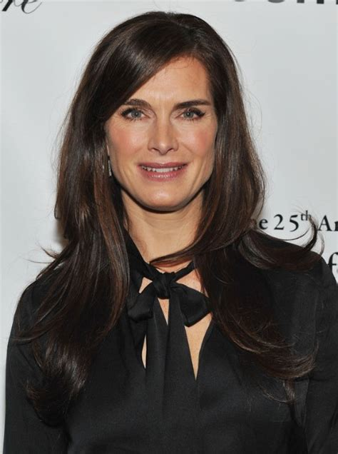 long hair age 30 s brooke shields long straight hairstyles for women