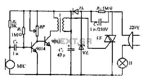 voice activated light switch voice modulator schematic get free image about wiring