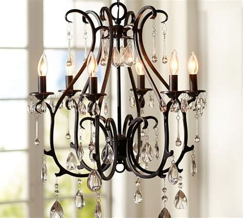 Chandeliers Pottery Barn Celeste Chandelier Pottery Barn