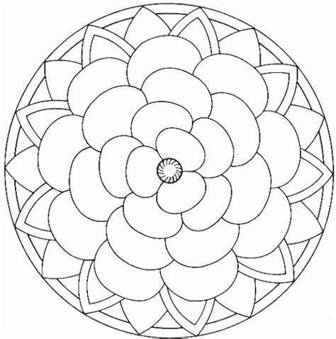 mandala coloring book a coloring book with easy and relaxing mandalas to color gift for boys tweens and beginners books simple mandalas to color free simple mandalas to color
