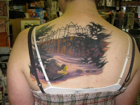 hogwarts castle tattoo 30 breathtakingly beautiful harry potter designs